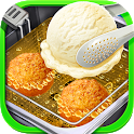 Deep Fried Ice Cream - Carnival Street Food Maker icon