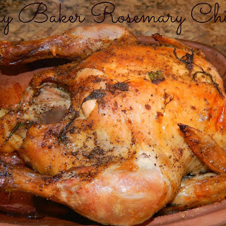 Clay Baker Roasted Rosemary Chicken