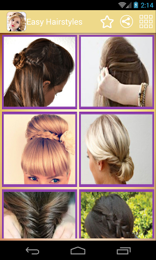 Easy Hairstyles - 2015