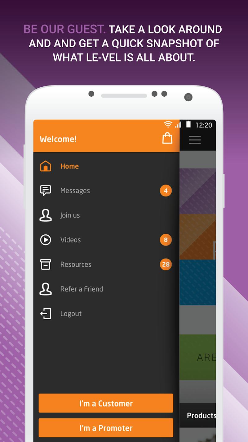Скриншот Le-Vel Cloud Control Mobile