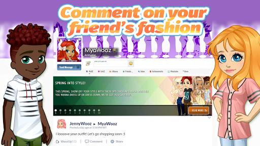 Woozworld - Fashion & Fame MMO apkdebit screenshots 14