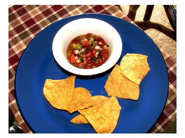 North Of The Border -- Salsa Recipe