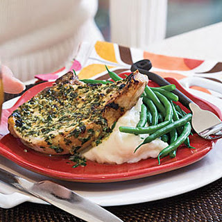 Pork Chops with Herb-Mustard Butter Recipe