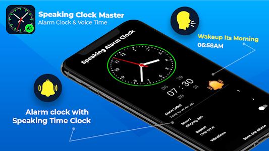 Smart Watch Speaking Clock : Talking Clock Time 3.2