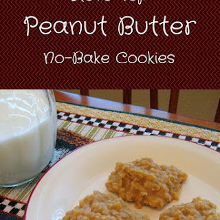 Peanut Butter No-Bake Cookies Recipe