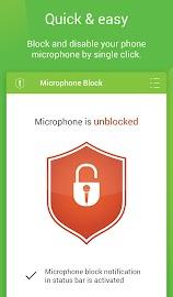 Mic Block - Anti spy & malware Screenshot 2