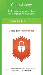 Mic Block - Anti spy & malware Screenshot 2