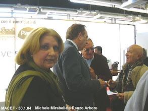 Photo: Renzo Arbore e Michele Mirabella