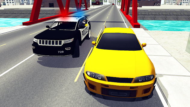 Police Car Chase 3D APK screenshot thumbnail 2