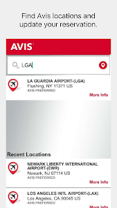 Avis Car Rental screenshot 1