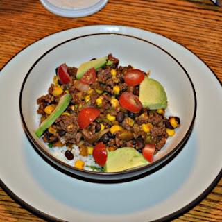 Beef Burrito Bowl #KraftyCooking