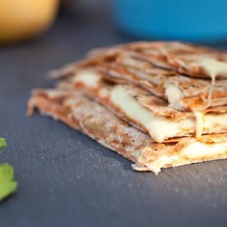 Vegan Quesadillas with Homemade Cashew Cheese