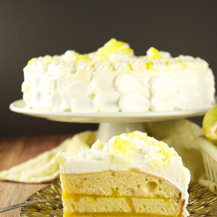 Passion Fruit Cake Recipe