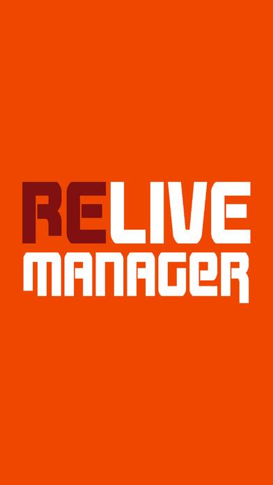 Relive Manager- screenshot