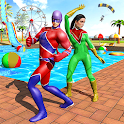 Super Hero Water Adventure Park Slide icon