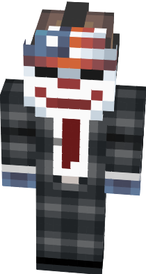 This is PayDay 2 character skin for minecraft :)