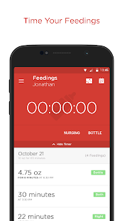Hatch Baby - Activity Tracker- screenshot thumbnail