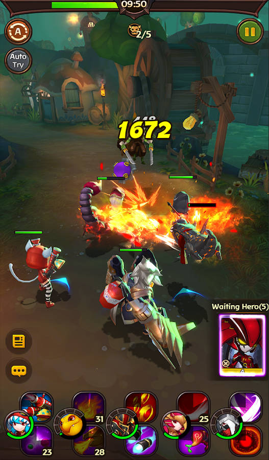 Hello Hero: Epic Battle- screenshot