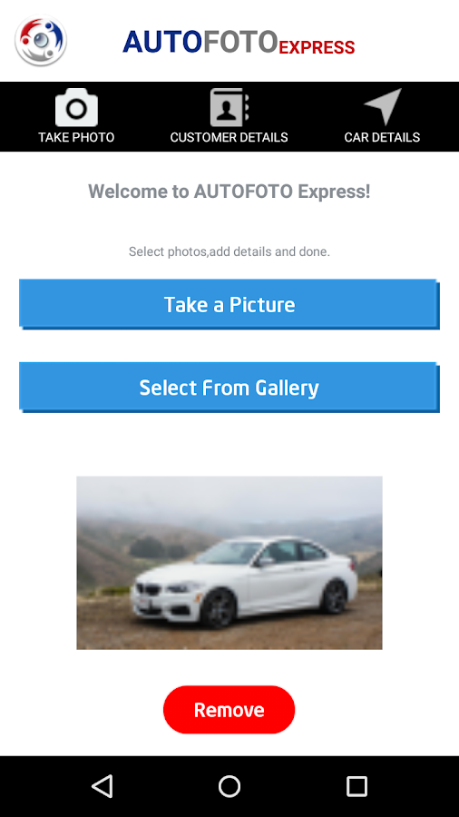 AUTOFOTO EXPRESS Photo Shuttle- screenshot