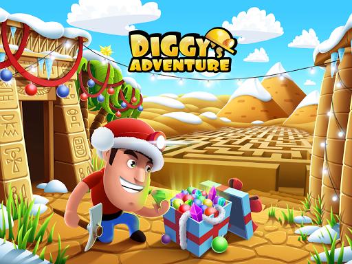 Diggy's Adventure: Labyrinthe et Puzzle de Mineur  captures d'écran 1