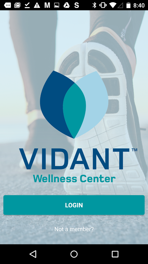 Vidant Wellness Center- screenshot
