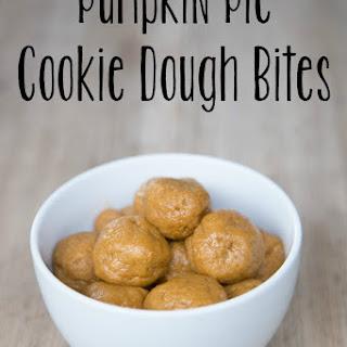Pumpkin Pie Cookie Dough Bites