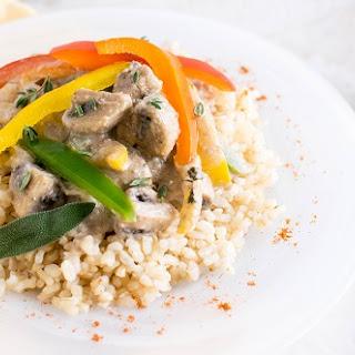 Mushroom Pepper Masala.