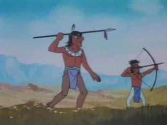 Die Indianer im 18. Jahrhundert