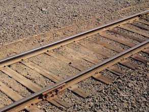 Photo: Ancient railroad construction