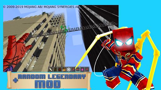 Modern spider hero mod apktreat screenshots 2