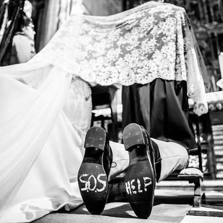 Wedding photographer CARLOS COBO (boodafotografia). Photo of 27.10.2017