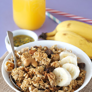 Passion Fruit and Coconut Granola