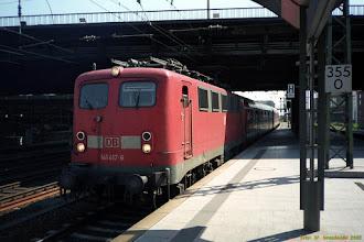 Photo: 141 417-6 (DB) {Hamburg Hbf; 2002-07-29}