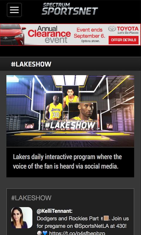 Spectrum Sportsnet Android Apps On Google Play