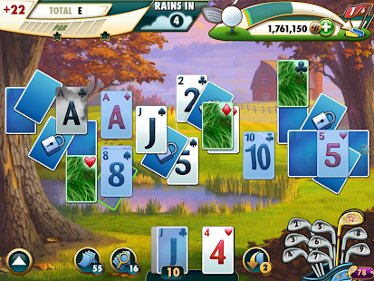 Fairway Solitaire Screenshot
