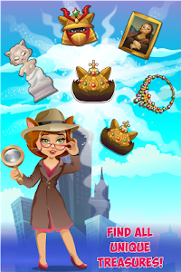 Jewels Detective Match 3 v0.156 Mod Lives
