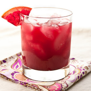 Blood Orange Margarita.
