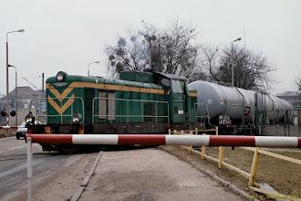 Photo: SM42-458 na bocznicy Polmosu {Toruń Wschodni; 2003-03-10}