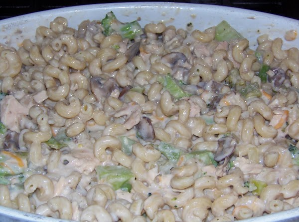 In a deep casserole dish, or a large shallow one add the soup, milk,...