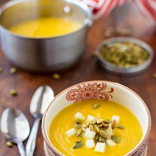 Kabocha Squash and Celeriac Soup