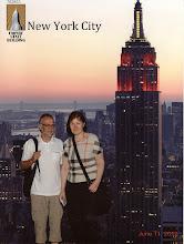 Photo: Oikein kunnon turistikuva Empire State Buildingilta!