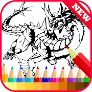 Coloring Book for Bakugan Fans icon