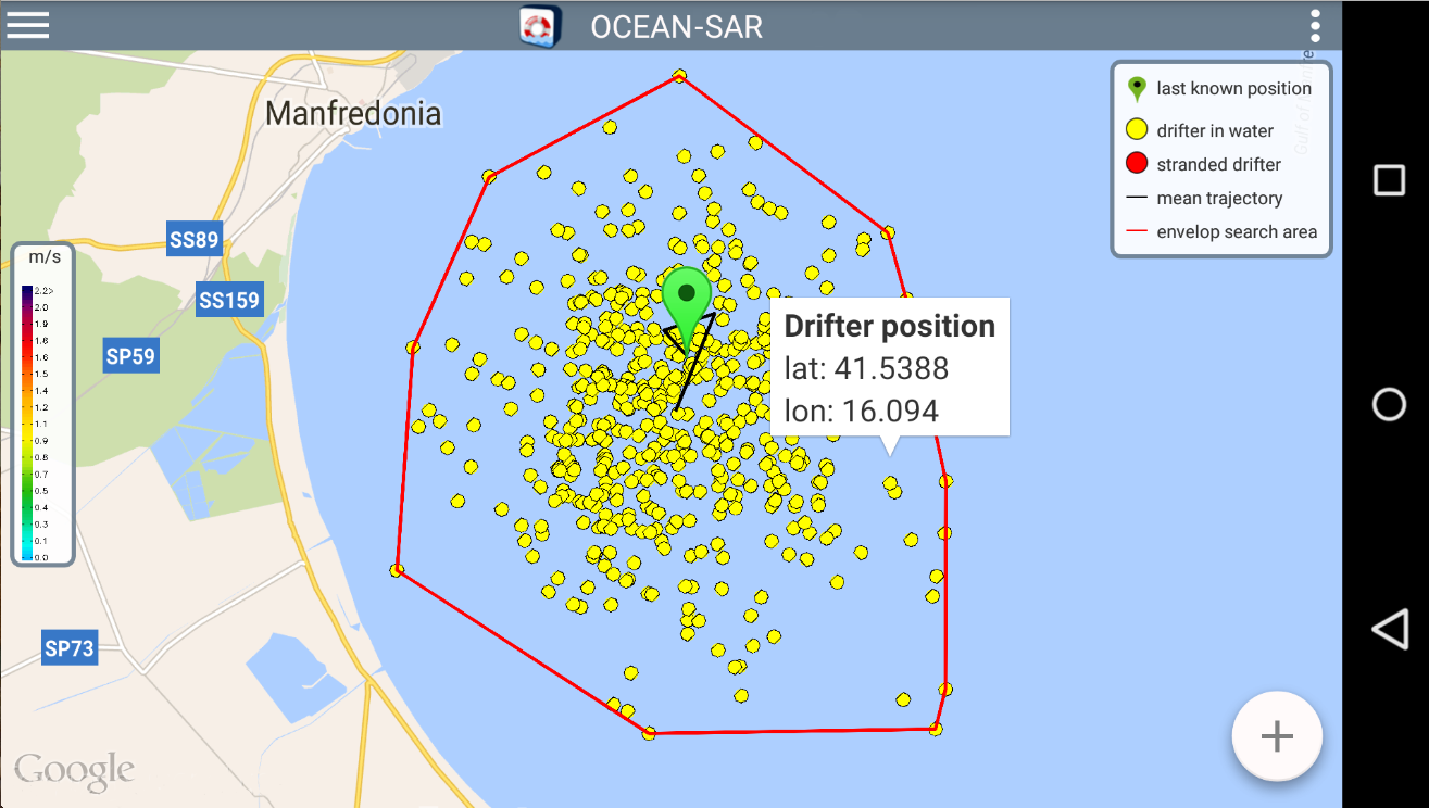 OCEAN-SAR- screenshot