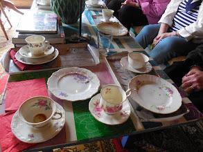 Photo: Kahvikuppien loistoa.