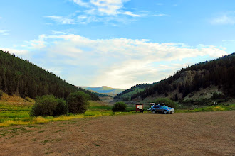 Photo: Camped in the Rio Grande National Forest