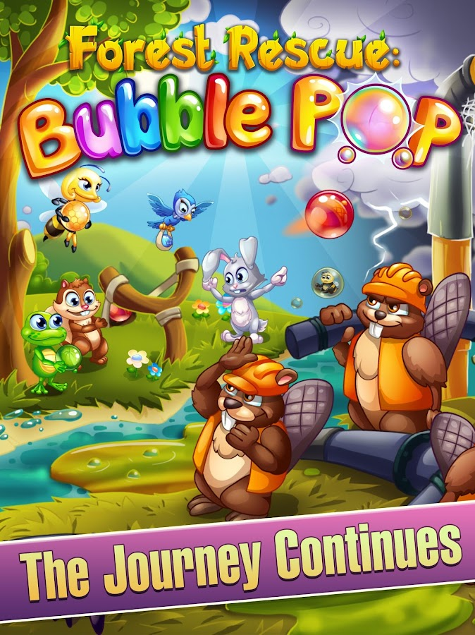 Forest Rescue: Bubble Pop- screenshot