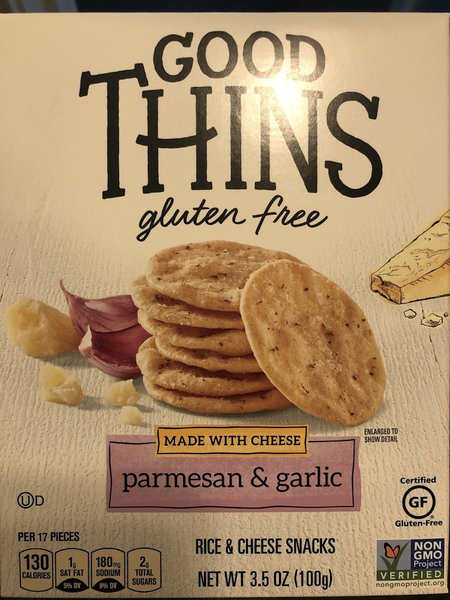 Good Thins Parmesan & Garlic
