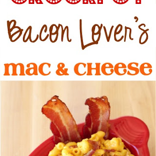 Crockpot Bacon Lover's Macaroni and Cheese Recipe!