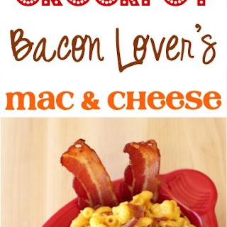 Crockpot Bacon Lover's Macaroni and Cheese Recipe!.