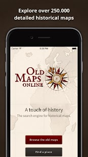 Old Maps: A touch of history- screenshot thumbnail